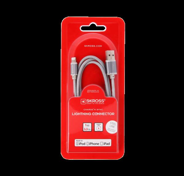 Kabel-do-iPhone-stalowy-Lightning MFI