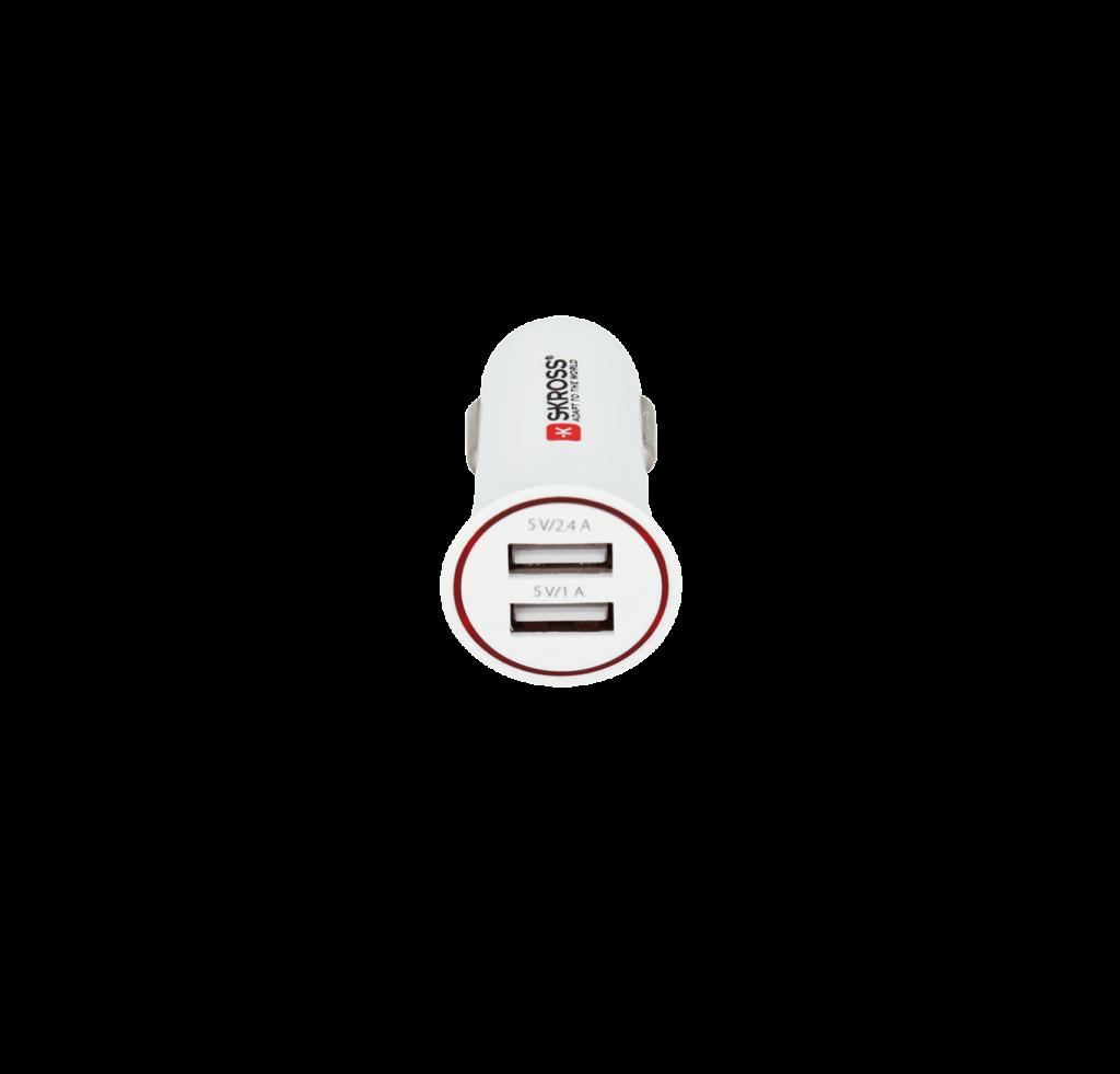 Ładowarka samochodowa 2x USB