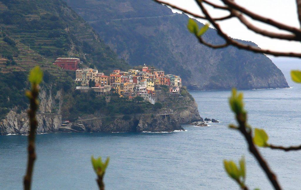 Widok na Cinque Terre