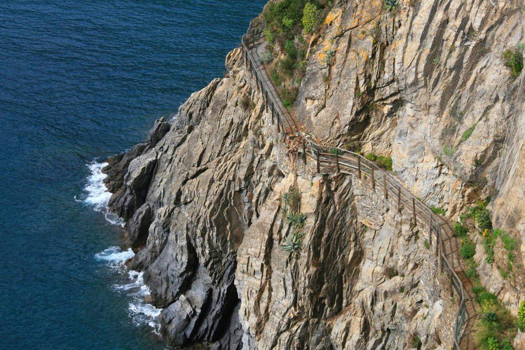 Cinque Terre ścieżka
