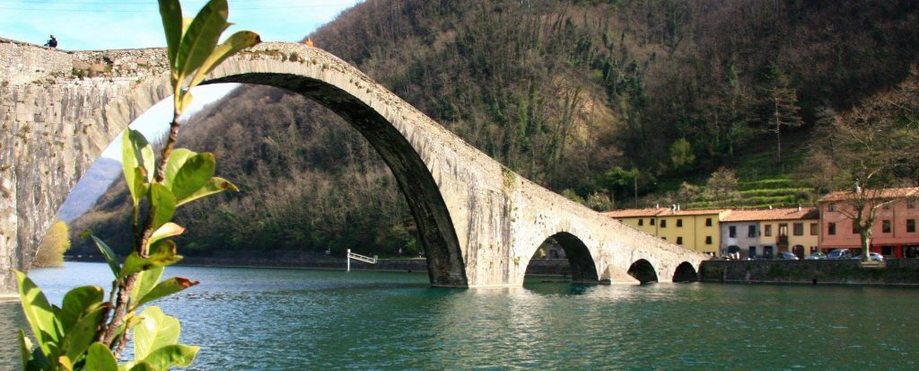 Toskania Ponte del Diavolo - Borgo a Mozzano